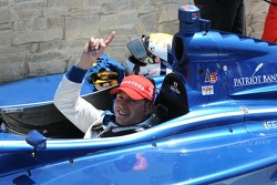 Race winner Bobby Wilson in victory lane