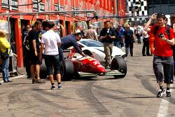 Jean Alesi's former 1993 Ferrari