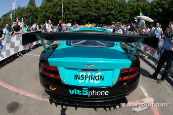 #53 Vitaphone Racing Team Aston Martin DBR9 at scrutineering