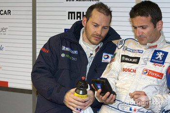 Jacques Villeneuve and Nicolas Minassian