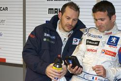 Jacques Villeneuve and Nicolas Minassian