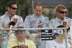 Gunnar Jeannette, Marc Rostan and Ben Devlin