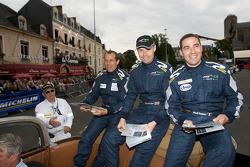 Alain Ferté, Ben Aucott and Stéphane Daoudi
