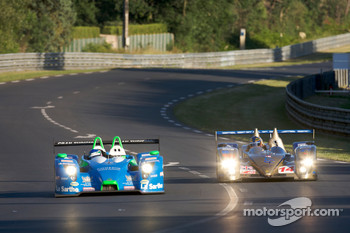 #16 Pescarolo Sport Pescarolo Judd: Jean-Christophe Boullion, Emmanuel Collard, Romain Dumas, #14 Creation Autosportif Creation CA07 AIM: Stuart Hall, Johnny Mowlem, Marc Goossens