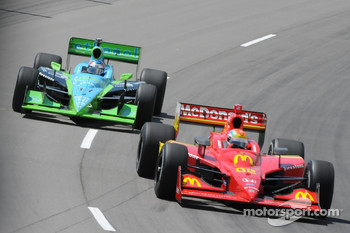 Justin Wilson and Ryan Hunter-Reay