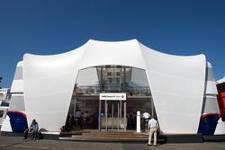 The BMW Sauber F1 Team hospitality