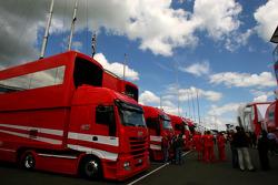 Scuderia Ferrari, truck