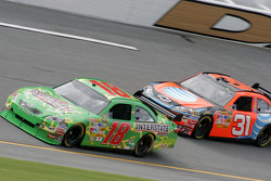 Kyle Busch and Jeff Burton