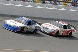 Bryan Clauson and Carl Edwards