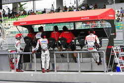 NISMO pitwall