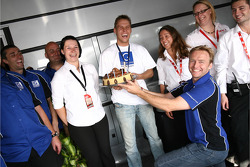 Allan Simonsen celebrates birthday
