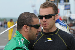 Tony Kanaan and Ed Carpenter