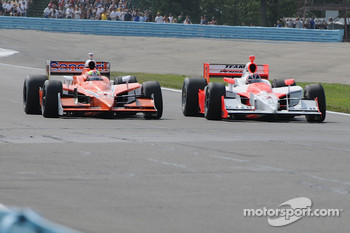 Enrique Bernoldi and Helio Castroneves