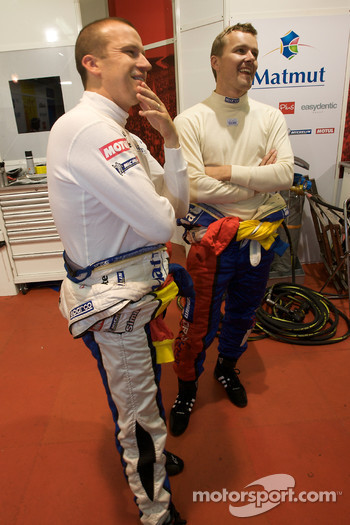 Oliver Panis and Marcel Fassler