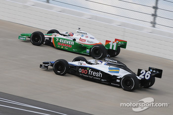 Marco Andretti and Tony Kanaan