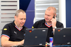Red Bull Racing engineers