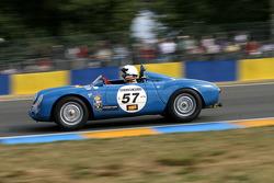#57 Porsche 550 A 1500 RS: Gys Van Lennep