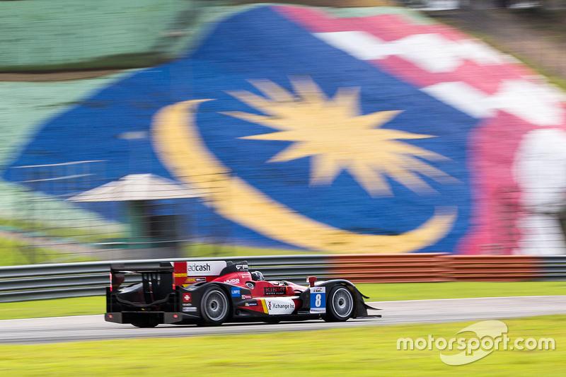 #8 Race Performance车队 Oreca 03R Judd: Nicolas Leutwiler, Shinji Nakano
