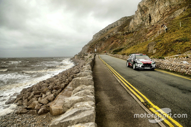Kris Meeke and Paul Nagle, Citroën DS3 WRC