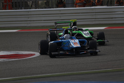 Matheo Tuscher, Jenzer Motorsport leads Alex Fontana, Status Grand Prix