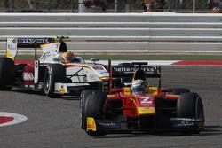 Jordan King, Racing Engineering leads Rio Haryanto, Campos Racing