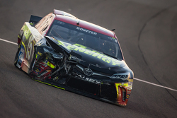 Clint Bowyer, Michael Waltrip Racing Toyota crashes