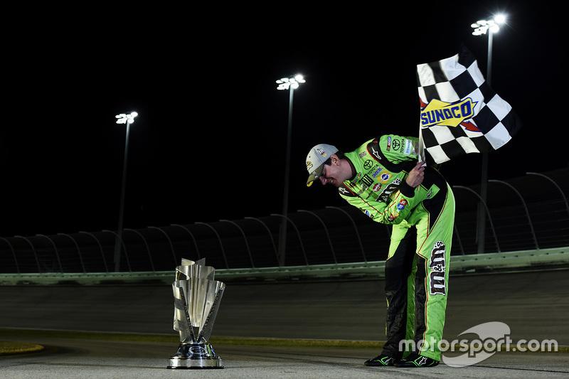 2. NASCAR Sprint Cup Series champion Kyle Busch