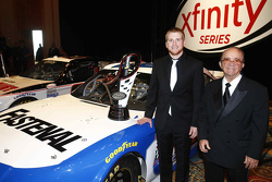 2015 Xfinity Series champion Chris Buescher with Jack Roush
