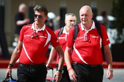 Graeme Lowdon, Manor Marussia F1 Team CEO en John Booth, Manor Marussia F1 Team teambaas