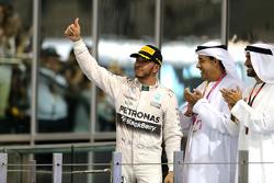 Tweede plaats Lewis Hamilton, Mercedes AMG F1 Team