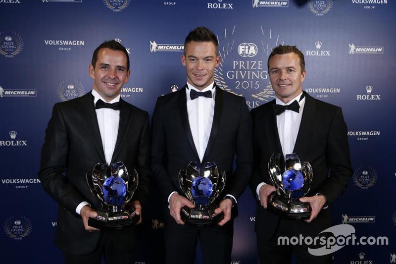 世界耐力锦标赛年度亚军、三届勒芒24小时赛冠军组合伯努瓦·特律叶、安德烈·洛特勒、马塞尔·法斯勒