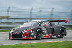 #17 Audi Sport Team WRT Audi R8 LMS: Stuart Leonard, Stéphane Ortelli, Laurens Vanthoor