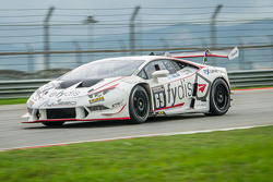 #69 Team Fydis Aylezo Lamborghini Super Trofeo Huracan: Zen Low, Mitchell Gilbert, Matthew Swanepoel