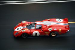北美车队11号法拉利512S:罗尼·巴克纳姆、萨姆·波西