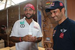 Yazeed Al-Rajhi and Nasser Al-Attiyah