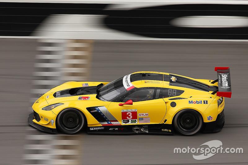 #3 Corvette Racing Chevrolet Corvette C7.R: Antonio Garcia, Jan Magnussen, Mike Rockenfeller at ...