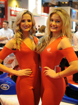 Silverstone Promo girls