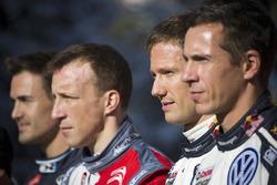 Daniel Sordo, Hyundai Motorsport, Kris Meeke, Citroën World Rally Team, Sébastien Ogier, Julien Ingrassia, Volkswagen Motorsport