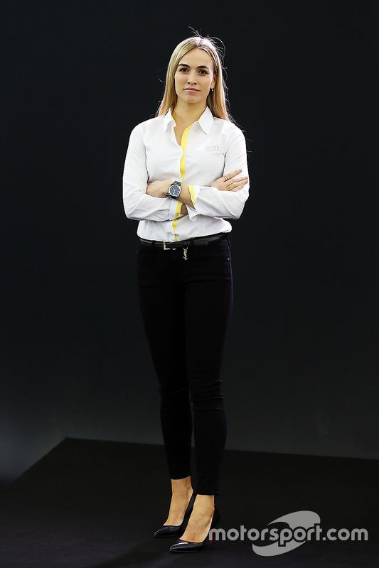 Carmen Jorda Renault F1 Team Entwicklungsfahrer Bei
