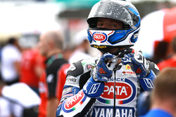 Sylvain Guintoli, Pata Yamaha ont the starting grid