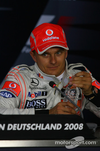 Press conference: Heikki Kovalainen