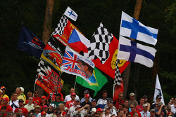 Fans and Flags