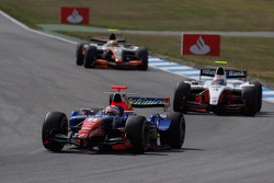 Javier Villa leads Romain Grosjean and Ho-Ping Tung