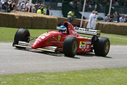Klaas Zwart, 1995 Ferrari 412T2 (ex Jean Alesi)