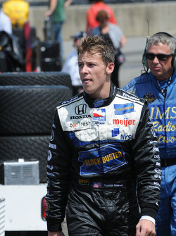 Marco Andretti after his retirement
