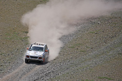 #22 Team Oz - Unfinished Business Porsche Cayenne S Transsyberia: Paul Watson and David Morley