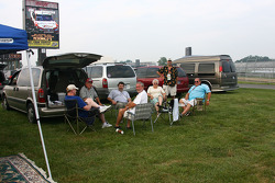 Fans at Indianapolis