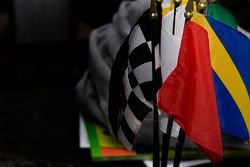 Flags at Indianapolis Motor Speedway