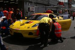 #182 JMB Racing Ferrari F430: Pascal Ballay, Johan Boris Scheier