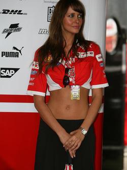 Xerox Ducati girl